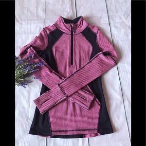 Ivivva half zip purple/pink jacket size 10